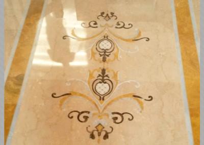 Lucidatura pavimento in marmo | C.F. Pavimenti