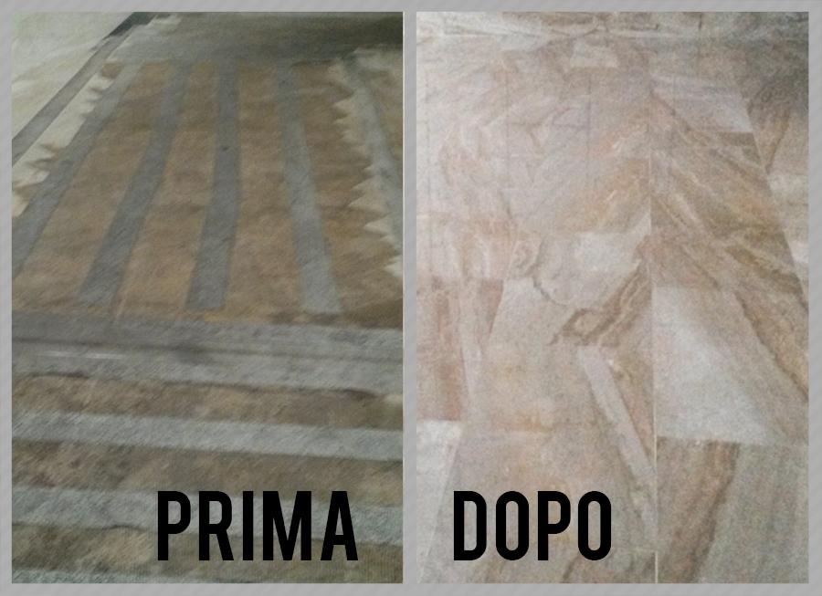 Restauro pavimenti marmo, granito, graniglie di marmo, cotto, seminato