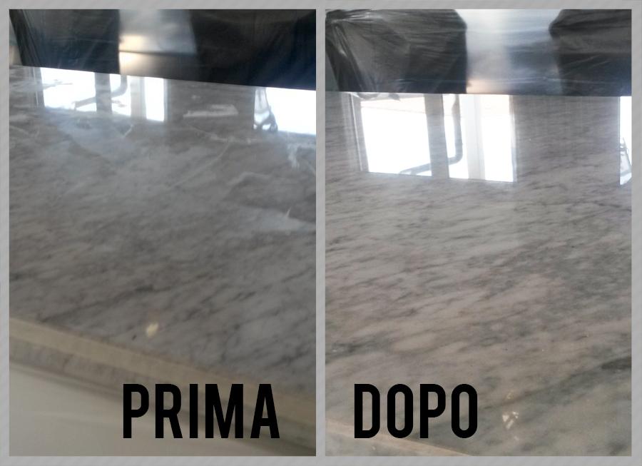 Lucidatura marmo